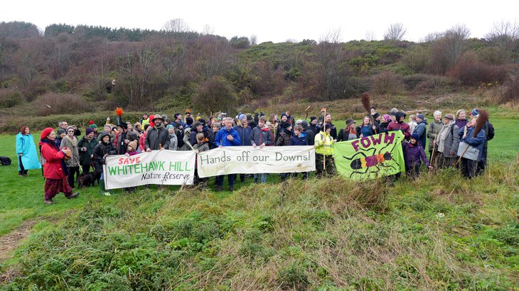 Save Whitehawk Hill Demo